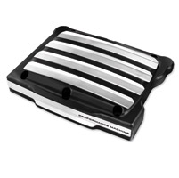 Performance Machine Drive Contrast Cut Platinum Rocker Box Covers