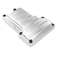 Performance Machine Drive Transmission Top Cover Chrome