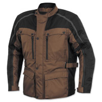 River Road Men's Taos Brown/Black Riding Jacket