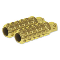 Roland Sands Design Brass Traction Footpegs