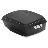 Mustang Chrome Studded King TourPak Lid Cover