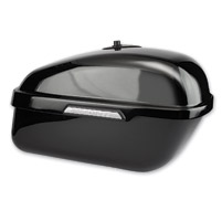 Hardstreet Slimbag Gloss Black Saddlebag