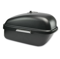 Hardstreet Slimbag Satin Black Saddlebag