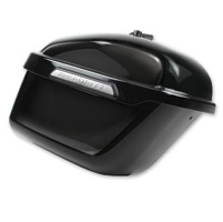 Hardstreet Sixer Gloss Black Saddlebag