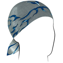 ZAN headgear Tank Flame Blue Flydanna Head Wrap