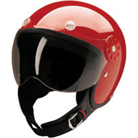 HCI-15 Red Open Face Helmet