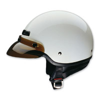 HCI-40 White Half Helmet