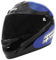 Speed and Strength SS1000 Moment of Truth Blue and Black Full Face Helmet