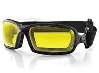 Bobster Fuel Photochromic Goggles with Yellow/Gray Lens