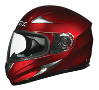 AFX FX-90 Wine Red Full Face Helmet
