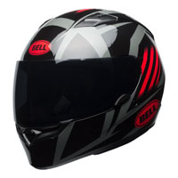 Bell Qualifier Blaze Black/Red Full Face Helmet