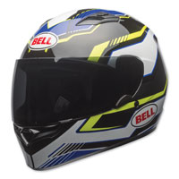 Bell Qualifier Torque Blue/Yellow Full Face Helmet