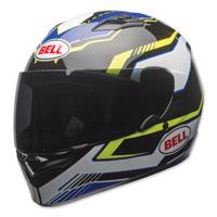 Bell Qualifier Torque Blue/Yellow Full Face Helmet