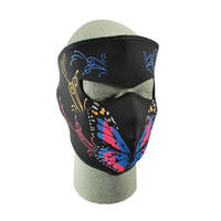 ZAN headgear Butterfly/Multi Neoprene Face Mask