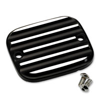 Joker Machine Black/Silver Finned Master Cylinder Cover