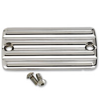 Joker Machine Chrome Finned Front Master Cylinder Cover