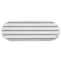 Kuryakyn Finned Transmission Cover Accents Chrome