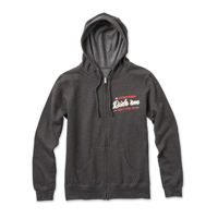 Roland Sands Design Women's Ride 'em Charcoal Heather Zip Hoodie