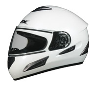 AFX FX-100 Pearl White Full Face Helmet