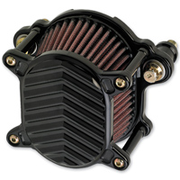 Joker Machine Omega Air Cleaner V Fin  Black