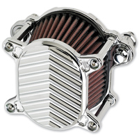 Joker Machine Omega Air Cleaner V Fin Chrome