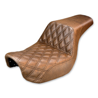 Saddlemen Gripper-Step Up Brown Seat