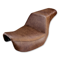 Saddlemen Rear LS-Step Up Brown Seat