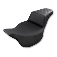 Saddlemen Rear LS-Step Up Black Seat