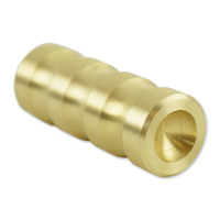 Brass Balls Cycles Ribbed Shifter Toe Peg Brass