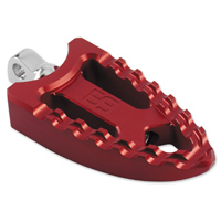 Brass Balls Cycles Meat Hook Foot Pegs Red