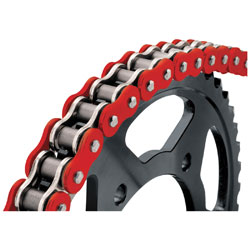 BikeMaster 525 X 120 BMXR X-Ring Chain Red