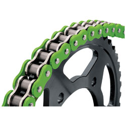 BikeMaster 525 X 120 BMXR X-Ring Chain Green
