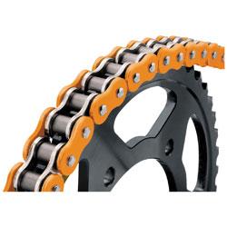 BikeMaster 525 X 120 BMXR X-Ring Chain Orange