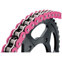 BikeMaster 525 X 150 BMXR X-Ring Chain Pink