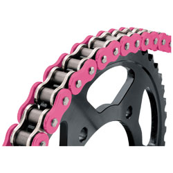 BikeMaster 530 X 120 BMXR X-Ring Chain Pink