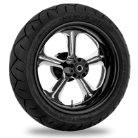 Performance Machine Wrath Platinum Cut Rear Wheel 18x3.5 ABS
