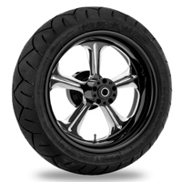 Performance Machine Wrath Platinum Cut Rear Wheel 18x3.5 Non-ABS