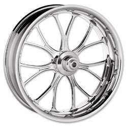Performance Machine Heathen Chrome Front Wheel 23x3.5 ABS