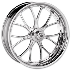 Performance Machine Heathen Chrome Front Wheel 18x3.5 ABS