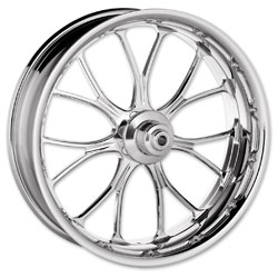 Performance Machine Heathen Chrome Front Wheel 18x3.5 Non-ABS