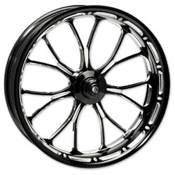Performance Machine Heathen Platinum Cut Front Wheel 18x3.5 Non-ABS