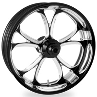 Performance Machine Luxe Platinum Cut Front Wheel 19x3 Non-ABS