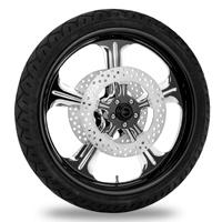 Performance Machine Wrath Platinum Cut Front Wheel 19x3 Non-ABS