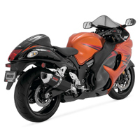 Vance & Hines CS One Dual Black Slip On Mufflers