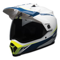 Bell MX-9 Adventure MIPS Torch White/Blue Full Face Helmet