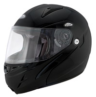 Zox Flip-Up Nevado RN2 Matte Black Modular Helmet