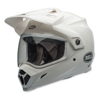 Bell MX-9 Adventure MIPS Gloss White Full Face Helmet
