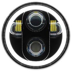 HogWorkz 5-3/4″ LED Blackout HaloMaker Headlight