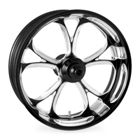 Performance Machine Luxe Platinum Cut Rear Wheel 15x5.5