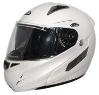 Zox Genessis RN2 SVS Pearl White Modular Helmet